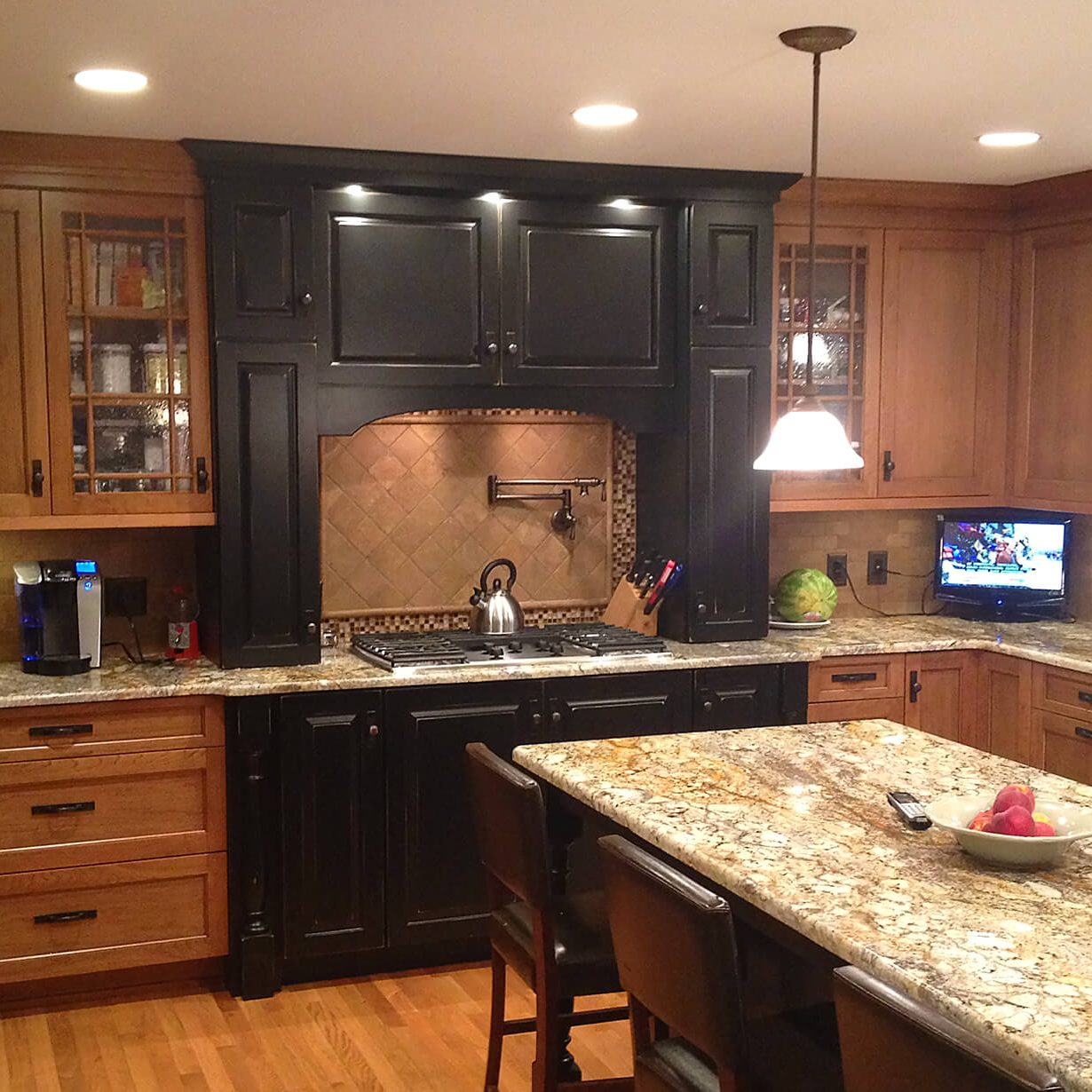 Kinetic Kitchen and Bath gallery photo of a kitchen remodel design.