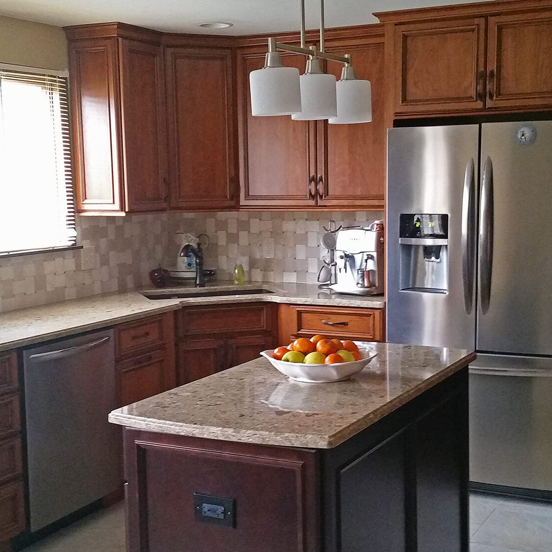 Photo from a kitchen remodel.