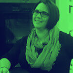 Kinetic Kitchen and Bath Our Team - Melissa's duotone portrait