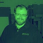 Kinetic Kitchen and Bath Our Team - Steve's duotone portrait